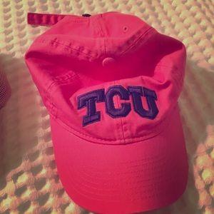 Hot Pink TCU Hat
